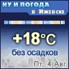Ну и погода в Ижевске - Поминутный прогноз погоды